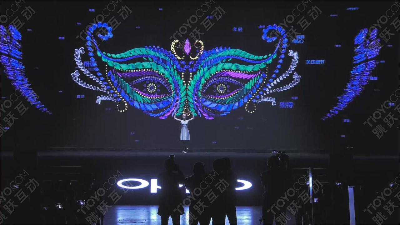 3D互动舞蹈,互动舞蹈,开场表演,人屏互动,开场秀,大屏互动,艺术舞蹈,科技舞蹈,晚会节目,全息表演,创意开场表演,多媒体互动,活动创意,创意开场,视频舞蹈,跳跃互动科技tioyo